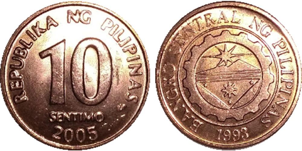 10 сентимо 2005 Филиппины UNC
