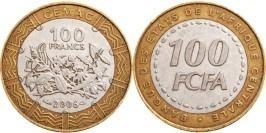 100 франков 2006 Центральная Африка (BEAC) UNC
