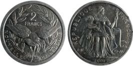 2 франка 2004 Новая Каледония