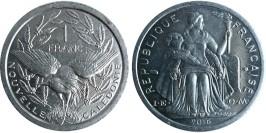 1 франк 2016 Новая Каледония