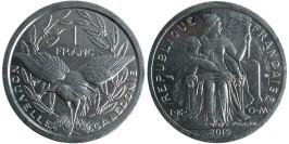 1 франк 2015 Новая Каледония