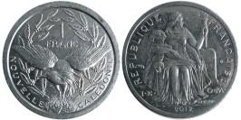 1 франк 2012 Новая Каледония