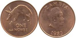 1 нгве 1983 Замбия UNC