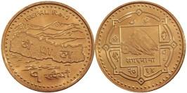 1 рупия 2007 Непал