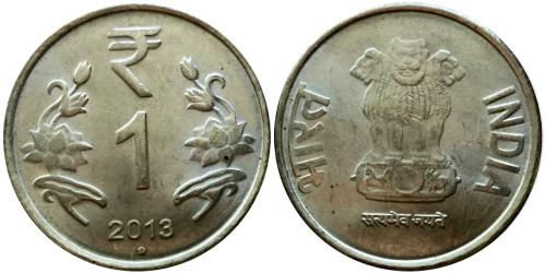 1 рупия 2013 Индия — Ноида
