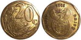 20 центов 2003 ЮАР