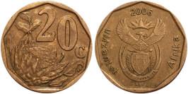 20 центов 2006 ЮАР