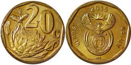 20 центов 2015 ЮАР