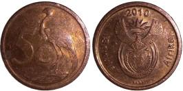5 центов 2010 ЮАР
