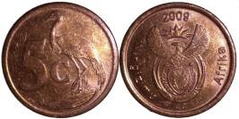 5 центов 2009 ЮАР