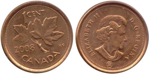 1 цент 2008 Канада