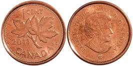 1 цент 2011 Канада