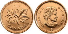 1 цент 2012 Канада