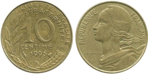 10 сантимов 1996 Франция