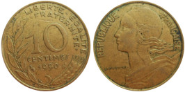 10 сантимов 1990 Франция