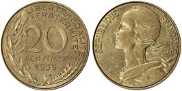 20 сантимов 1995 Франция
