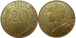 20 сантимов 1979 Франция