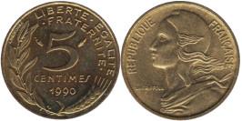 5 сантимов 1990 Франция