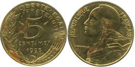 5 сантимов 1993 Франция