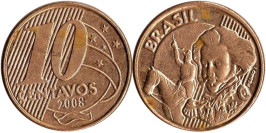 10 сентаво 2008 Бразилия