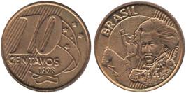 10 сентаво 1998 Бразилия