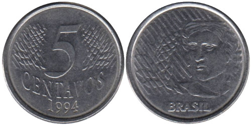5 сентаво 1994 Бразилия