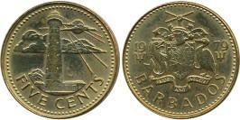 5 центов 1979 Барбадос