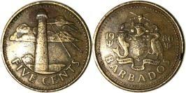 5 центов 1986 Барбадос