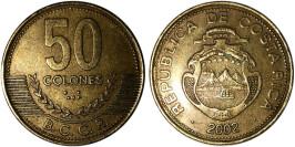 50 колон 2002 Коста Рика