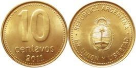 10 сентаво 2011 Аргентина UNC