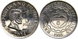 1 песо 2014 Филиппины