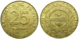 25 сантимов 2004 Филиппины