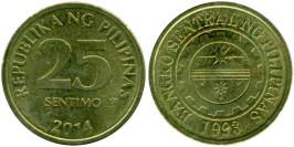 25 сантимов 2014 Филиппины