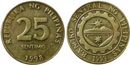 25 сантимов 1998 Филиппины