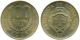 100 колон 1997 Коста Рика