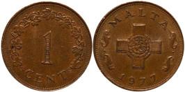 1 цент 1977 Мальта