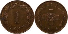 1 цент 1975 Мальта