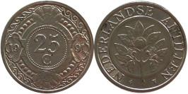 25 центов 1991 Нидерландские Антильские острова