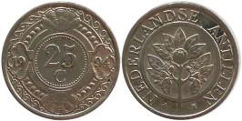 25 центов 1994 Нидерландские Антильские острова