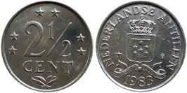 2 1/2 цента 1983 Нидерландские Антильские острова