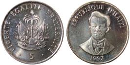 5 сантимов 1997 Гаити