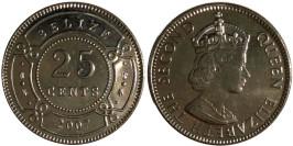 25 центов 2007 Белиз
