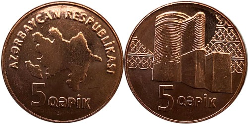 5 гяпиков 2006 Азербайджан UNC