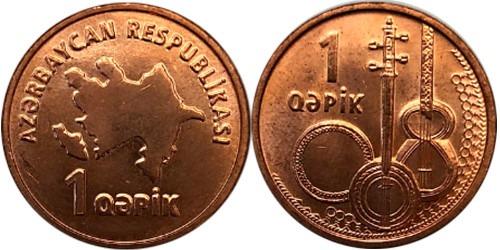 1 гяпик 2006 Азербайджан UNC