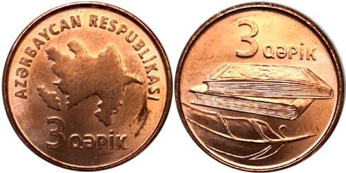 3 гяпика 2006 Азербайджан UNC