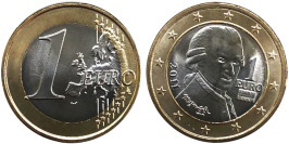 1 евро 2011 Австрия