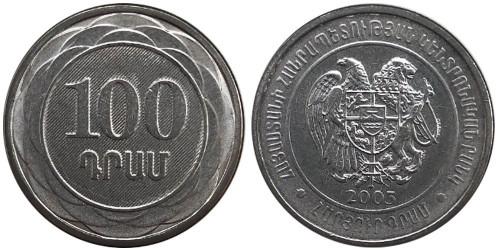 100 драмов 2003 Армения UNC