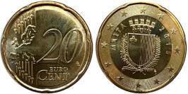 20 евроцентов 2016 Мальта UNC