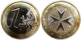 1 евро 2016 Мальта UNC
