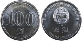 100 вон 2005 Северная Корея